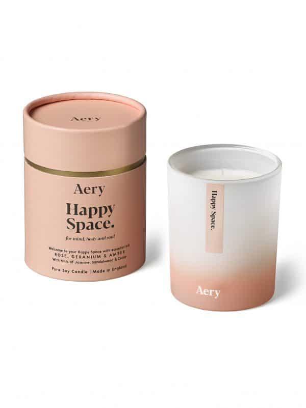 Aromaterapinė natūrali žvakė