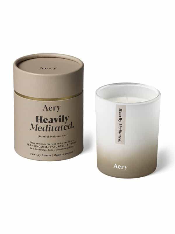 Aromaterapinė žvakė atsipalaidavimui ir susikaupimui