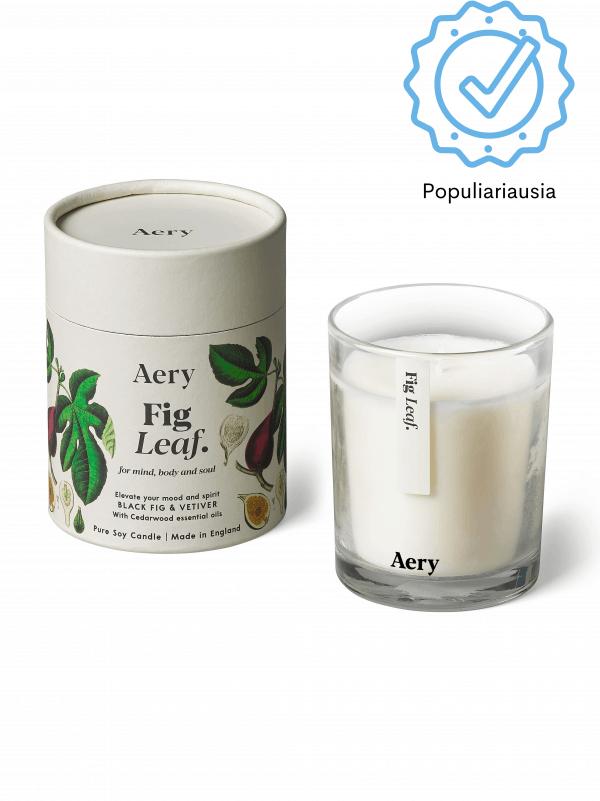 Saldaus kvapo aromaterapinė žvakė su eteriniais aliejais natūrali