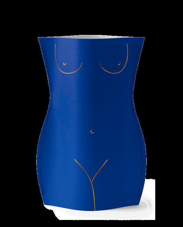 popierine vaza, moderni interjero detale, dramblio kaulo vaza, isskirtine stilinga vaza, dovana, dovana moteriai