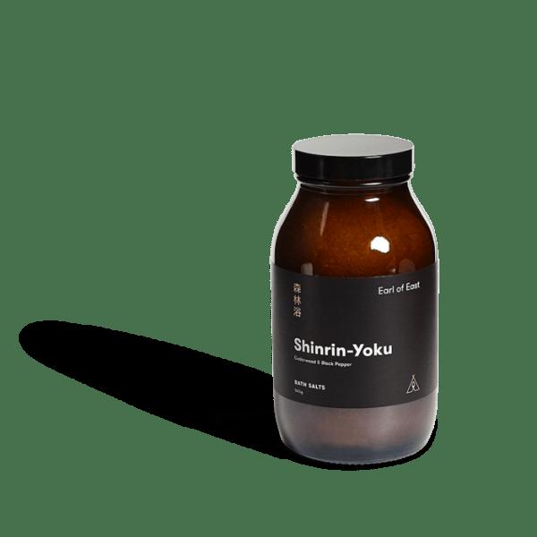 Natūrali vonios druska su eteriniais aliejais - Shinrin Yoku