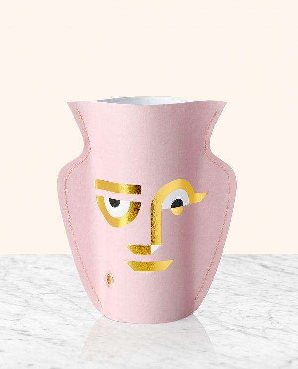 popierine vaza, isskirtinis modernus interjero aksesuaras, interjero detale