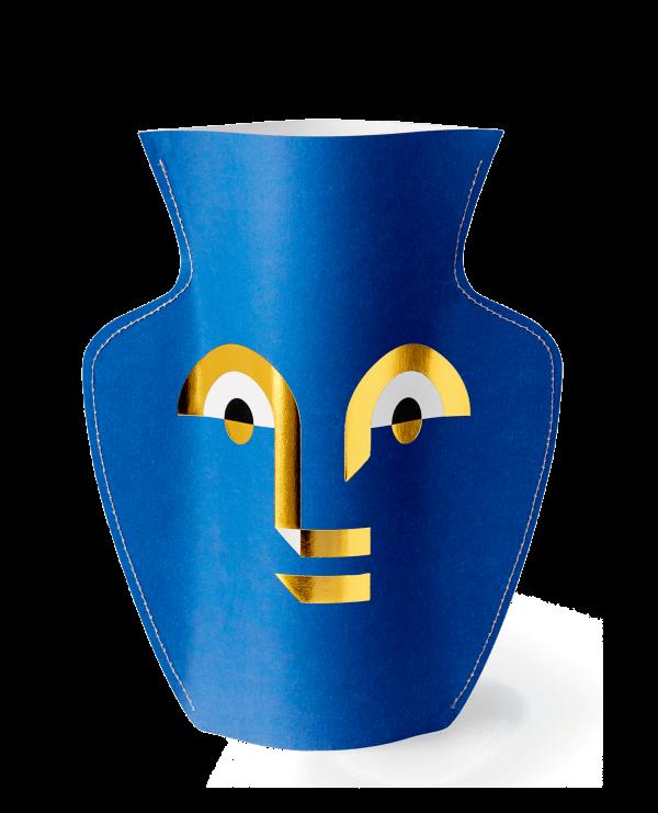 popierine abstraktaus rasto vaza, isskirtinis modernus interjero aksesuaras, interjero detale, dovana, ideja dovana, dovana moteriai