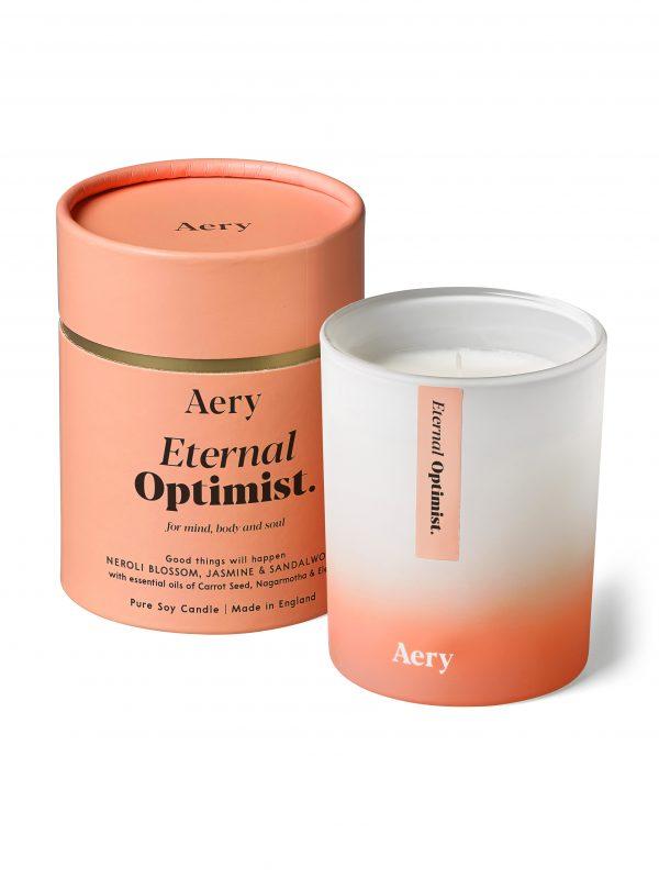 Aromaterapinė žvakė amžinas optimistas raminanti įkvepianti